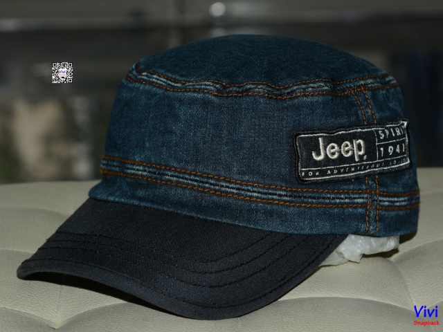 Nón mỏ cục Jean Jeep