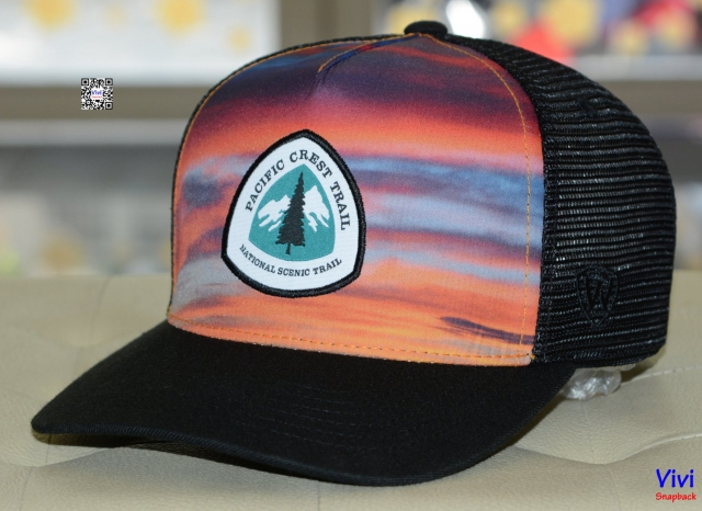PACIFIC CREST TRAIL ASSOC BLACK SKYLINE 1 Cap