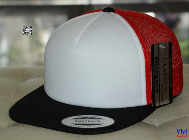 The Classic Yupoong Color Foam Trucker Snapback
