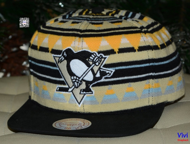 Mitchell & Ness Penguins Snapback