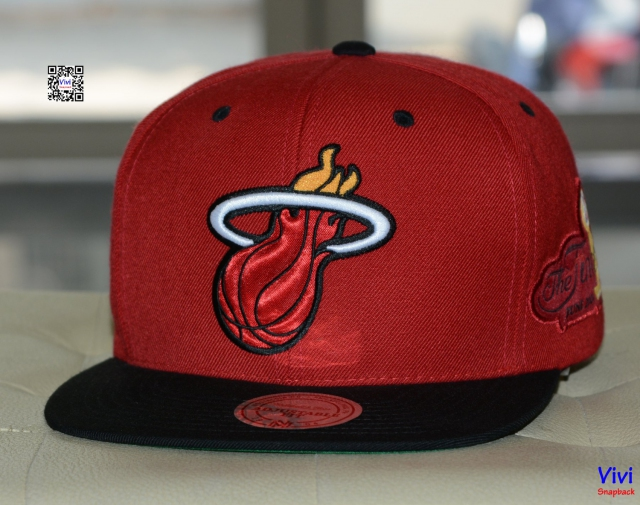 Mitchell & Ness Miami Heat The Finals Snapback