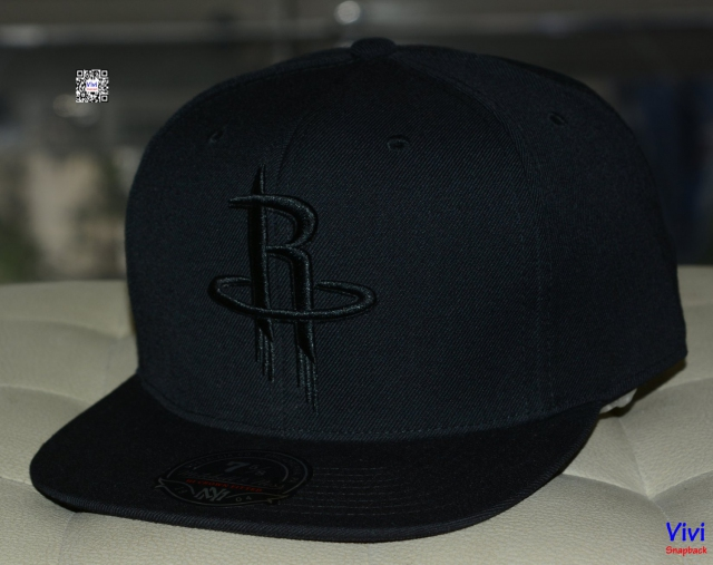 Mitchell & Ness Houston Rockets Fitted Snapback
