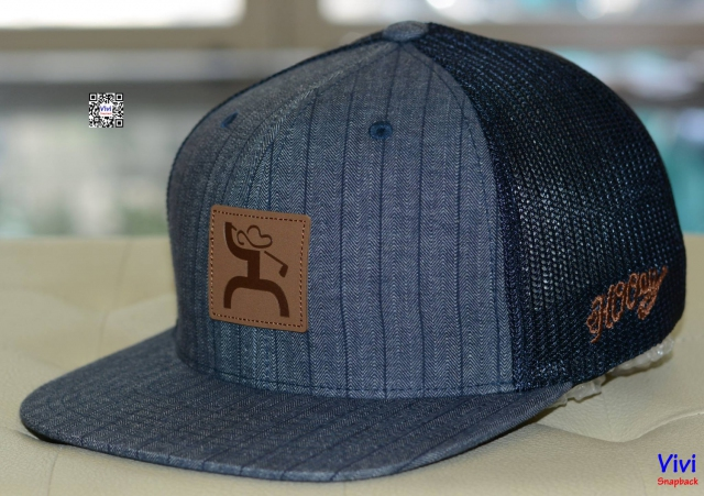 HOOey Pin Trucker Fitted Snapback