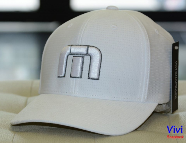 Travis Mathew B-Bahamas Fitted Cap White