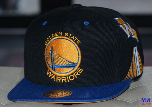 Mitchell & Ness Golden State Warriors Game Day Snapback 2Tone