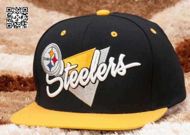 Mitchell & Ness Steelers Snapback