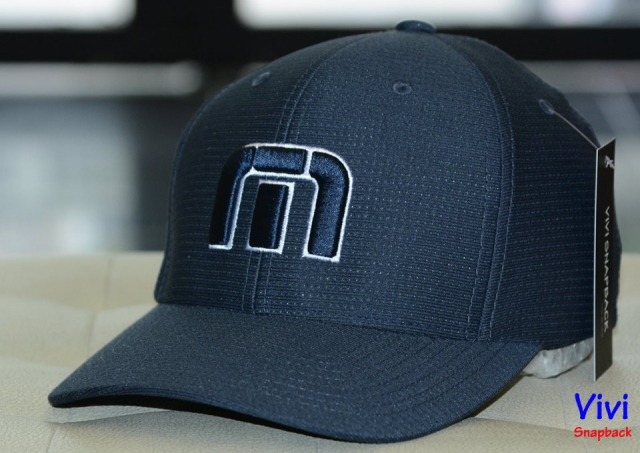 Travis Mathew B-Bahamas Fitted Cap Navy