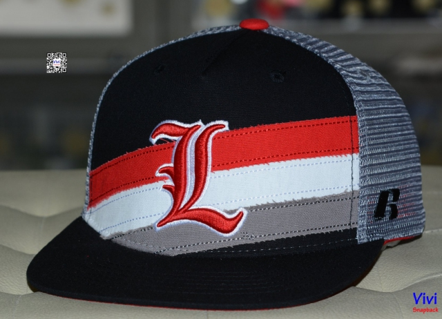 Russell Louisville Cardinals Trucker Snapback
