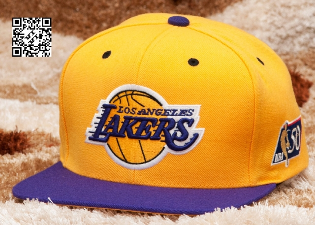 Mitchell & Ness Lakers Snapback