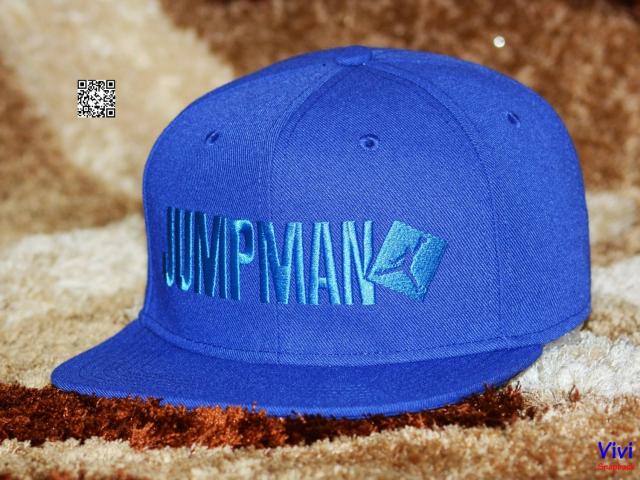 Nike Air Jordan Jumpman Script Snapback Purple