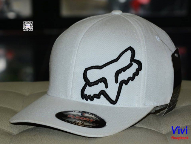 Fox Racing Flex 45 Flexfit White Cap