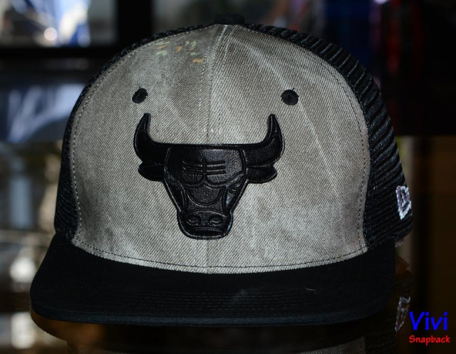 Chicago Bulls Trucker Snapback 2tone