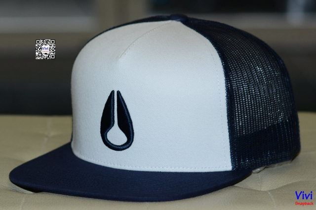 Nixon Deep Down Trucker Snapback Navy/White