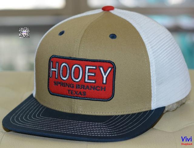 Hooey Spring Branch Texas Trucker Snapback