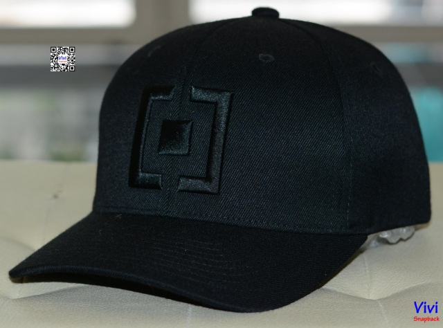 Horsefeathers Efron Black Fitted Cap