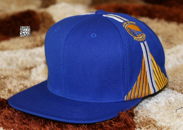 Mitchell & Ness Golden State Warriors Snapback Blue