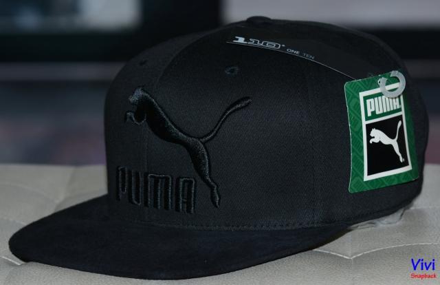Puma Suede 110 Snapback Full Black