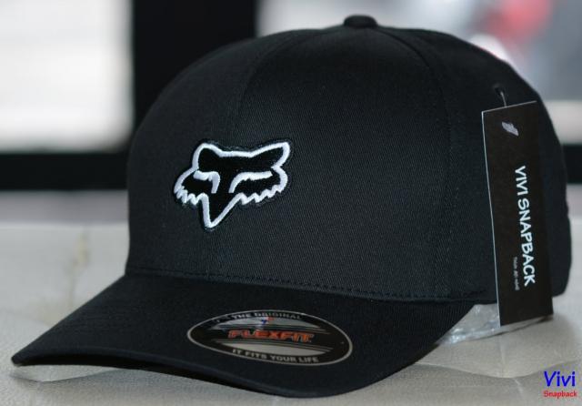 Nón Fox Racing Legacy Flexfit Cap Black