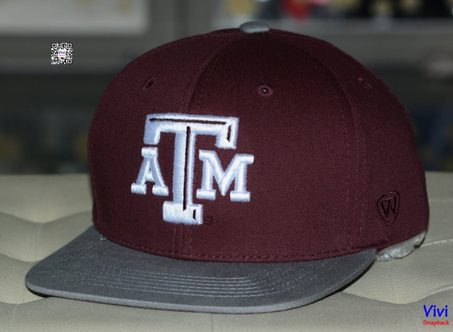 Top of the World Texas A&M Aggies NCAA Maverick Snapback -