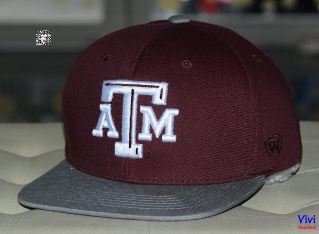 Top of the World Texas A&M Aggies NCAA Maverick Snapback -