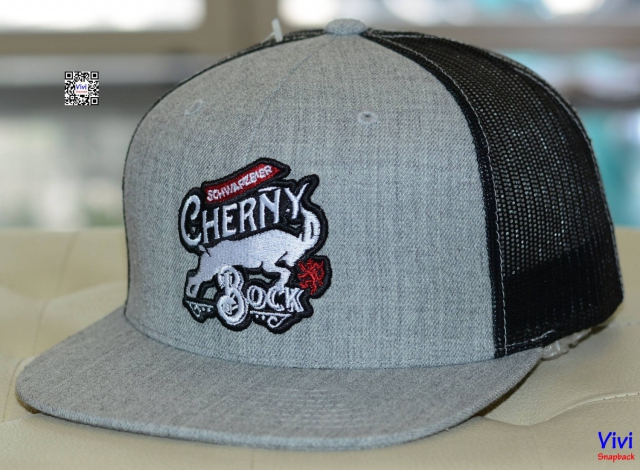 Cherny Grey/Black Trucker Snapback