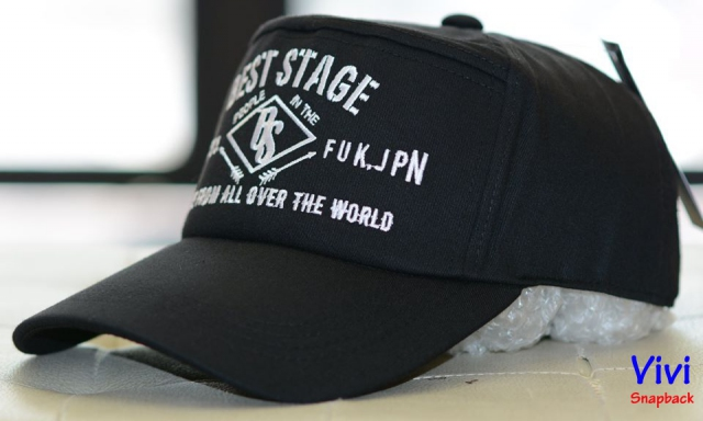 Nón kết Best Stage 7 panel cap Black