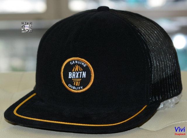 Brixton Pilsner 2 Trucker Black/Yellow Snapback