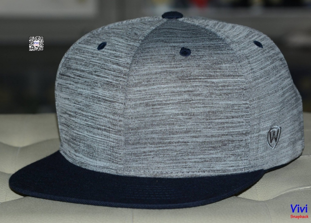 Top of the World 2Tone( Gray/Black) Snapback