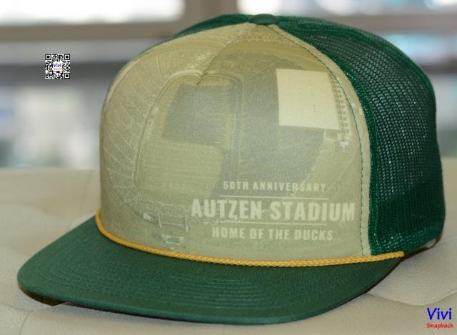 Richardson Autzen Stadium Trucker Snapback