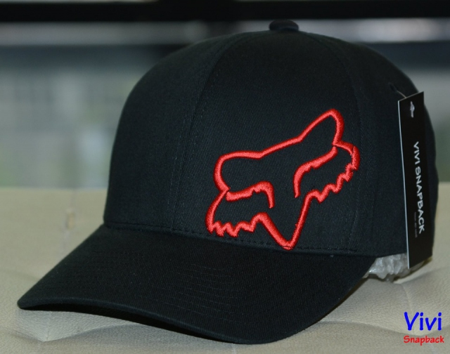 Fox Flex 45 Flexfit Cap Black