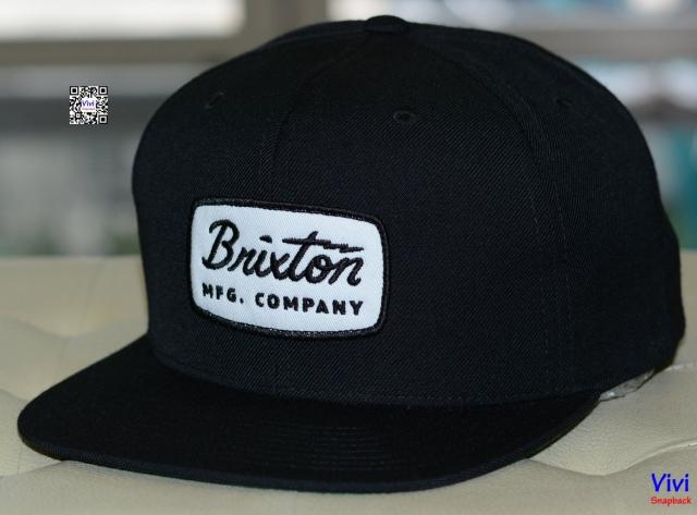 Brixton Jolt Black Snapback