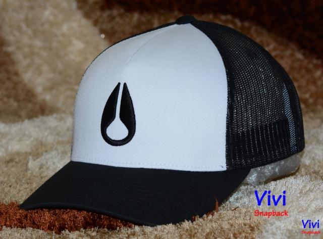 Nixon Logo Trucker Cap