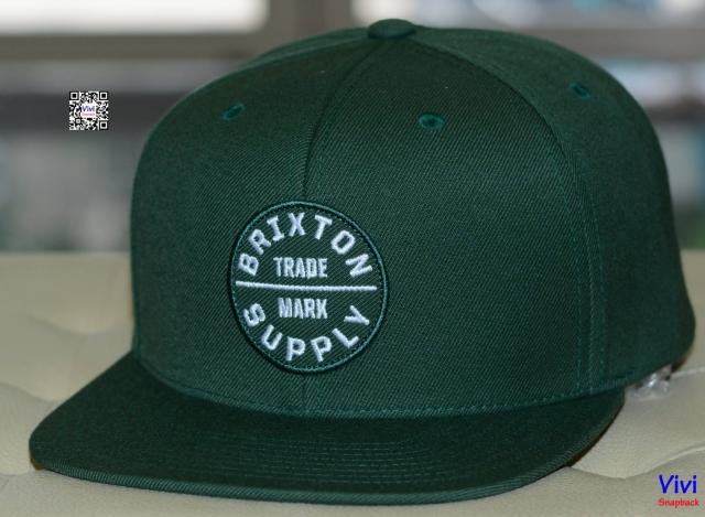 Brixton OATH III Green Snapback