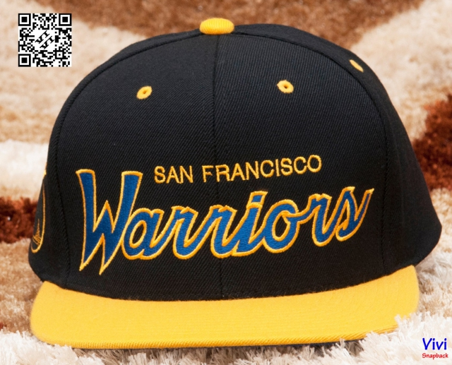 Mitchell & Ness Warriors Snapback 2Tone
