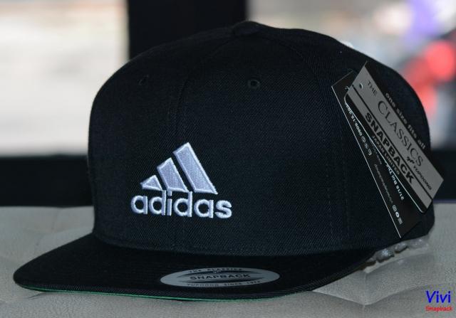Snapback The Classic Yupoong Adidas Logo Black