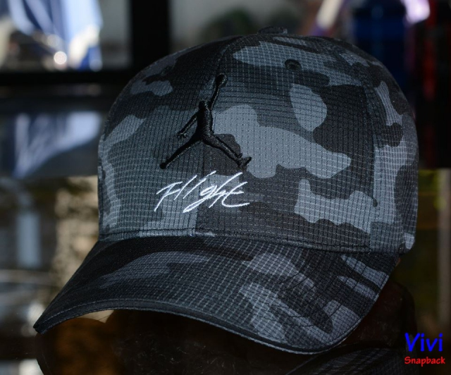 Jordan Flight Camo Fitted Cap