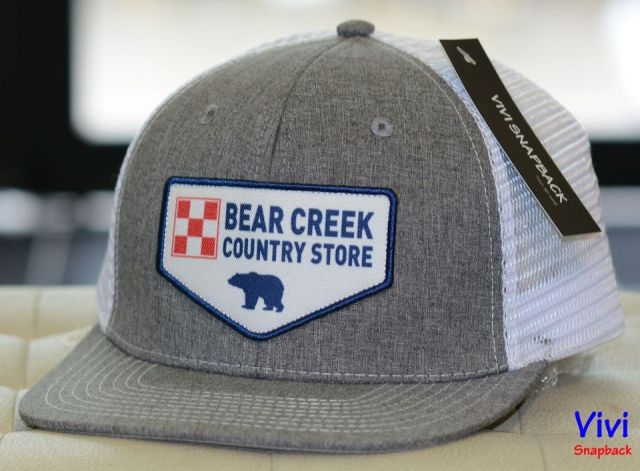 Snapback lưới Bear Logo California Republic with Patch