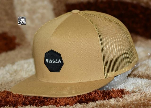 VISSLA Magnatubes Gold Trucker Snapback