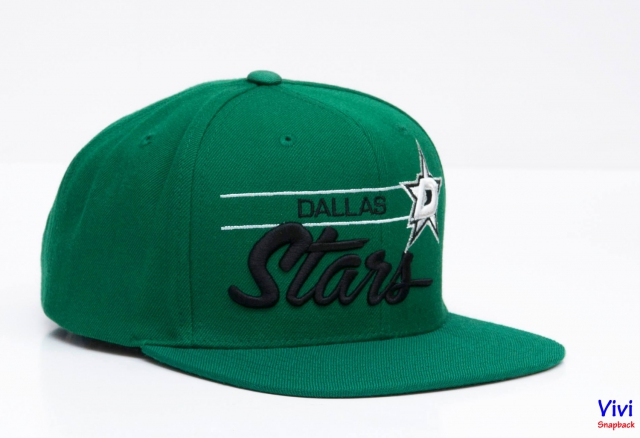 Mitchell & Ness Dallas Stars Snapback