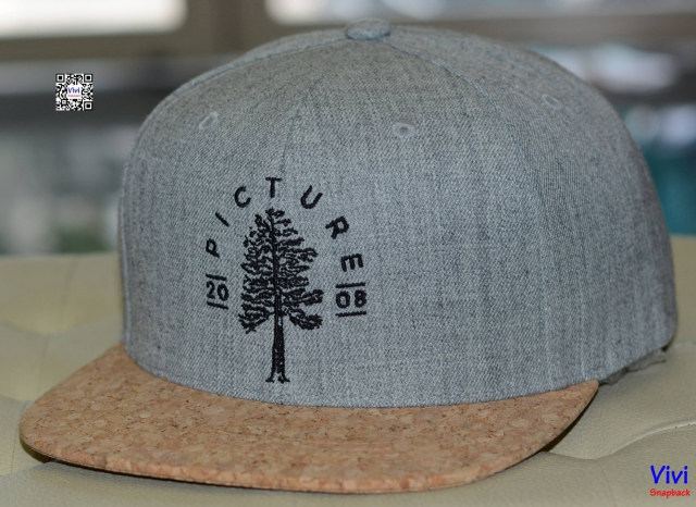 Picture Organic Clothing Grey Snapback