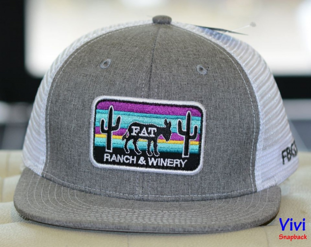 Snapback lưới Cactus Fat Ass Patch