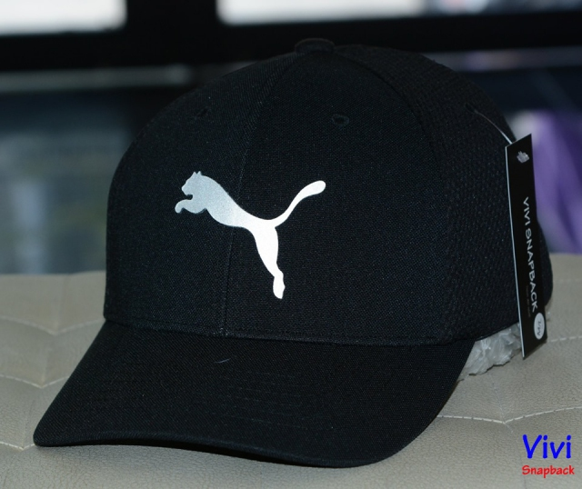 Puma Fitted Cap Black