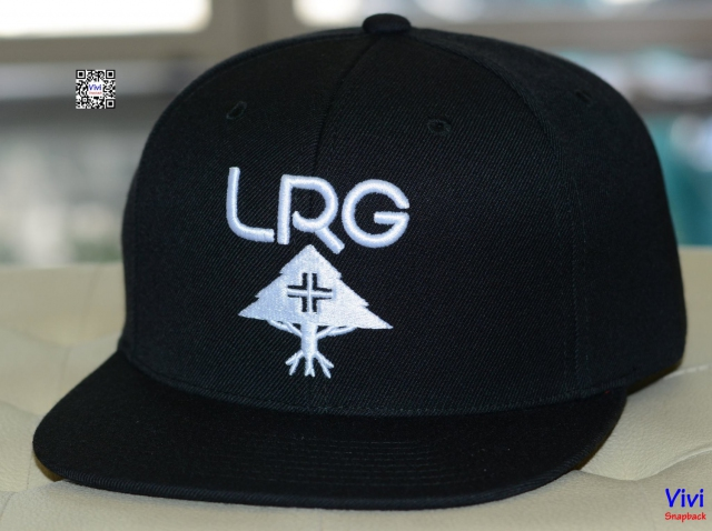 LRG Men's Research Group Black Snapback