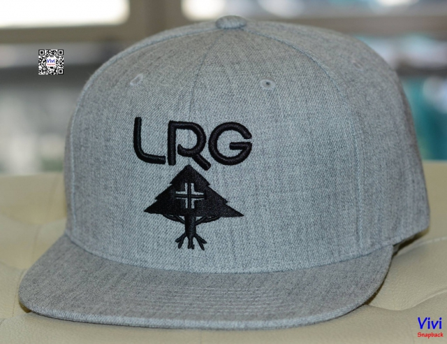 LRG Men's Research Group Grey Snapback