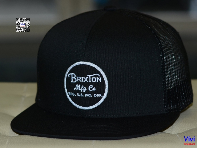 Brixton Wheeler Mesh Trucker Snapback