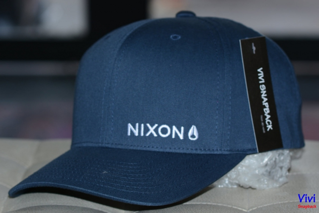 Nón Nixon Lockup Navy Cap