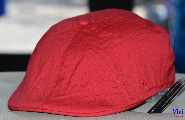 Kangol Ripstop Flexfit 504 Cap Red