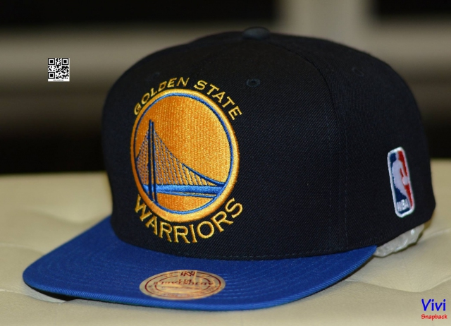 Mitchell & Ness Warriors Snapback Big Logo