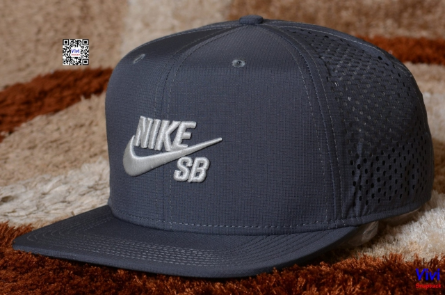Nike SB Performance Snapback Black Grey
