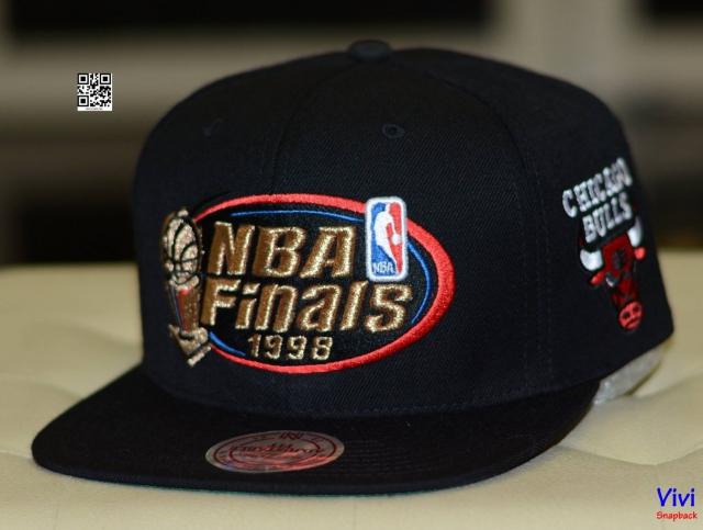 Mitchell & Ness NBA Finals Snapback Black